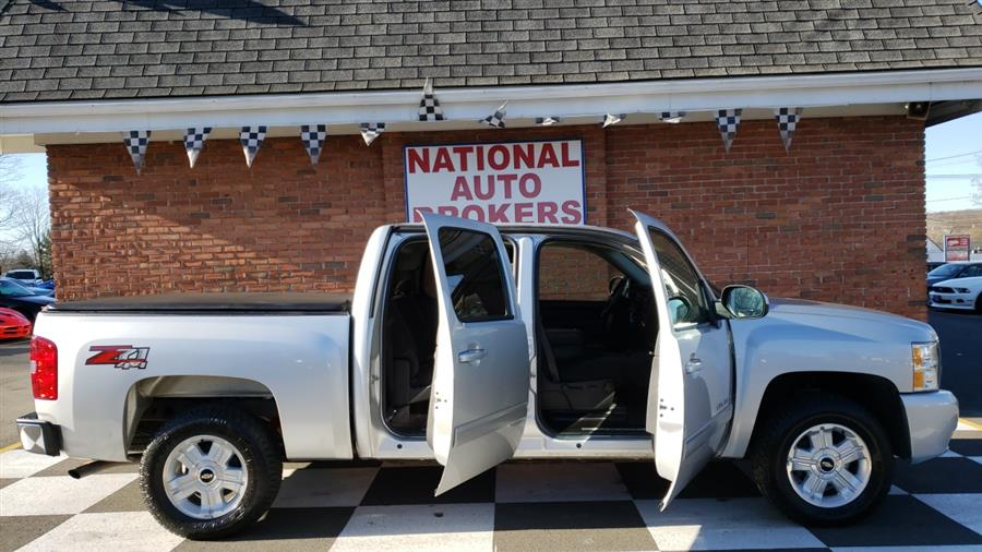 2013 Chevrolet Silverado 1500 4WD Crew Cab LT, available for sale in Waterbury, Connecticut | National Auto Brokers, Inc.. Waterbury, Connecticut