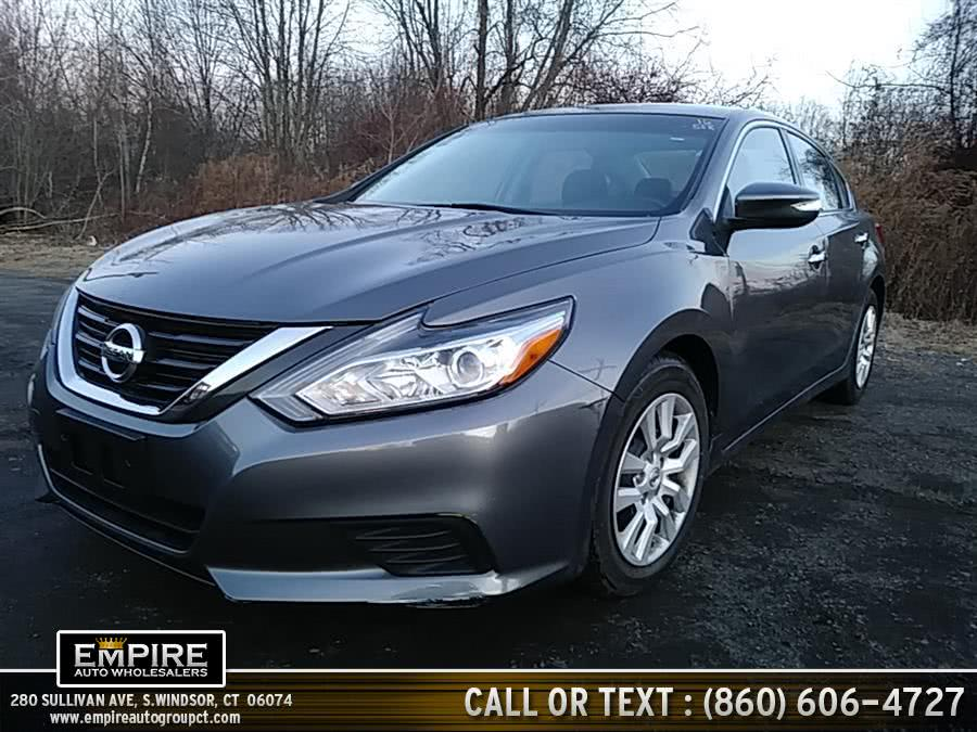 Used Nissan Altima S 2016 | Empire Auto Wholesalers. S.Windsor, Connecticut