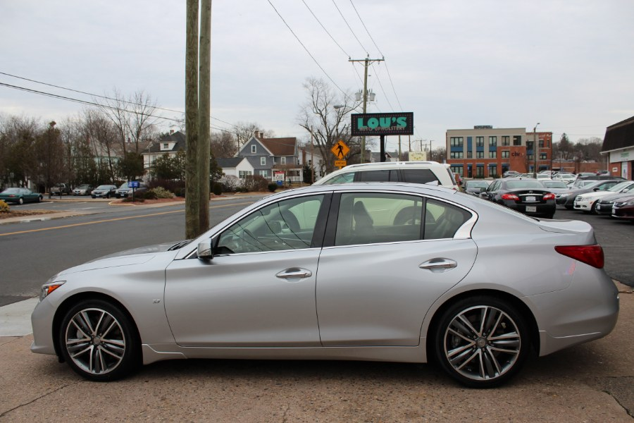 2015 Infiniti Q50 4dr Sdn Sport AWD, available for sale in Manchester, Connecticut | Carsonmain LLC. Manchester, Connecticut