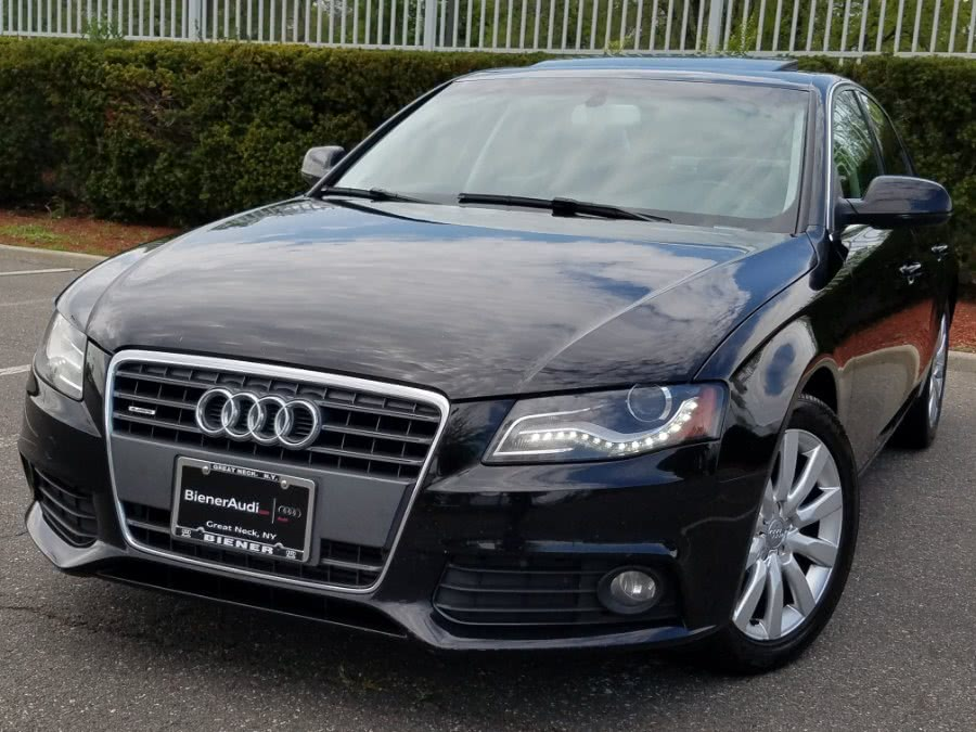 Used 2010 Audi A4 Auto 2.0T quattro AWD Premium Plus in Queens, New York