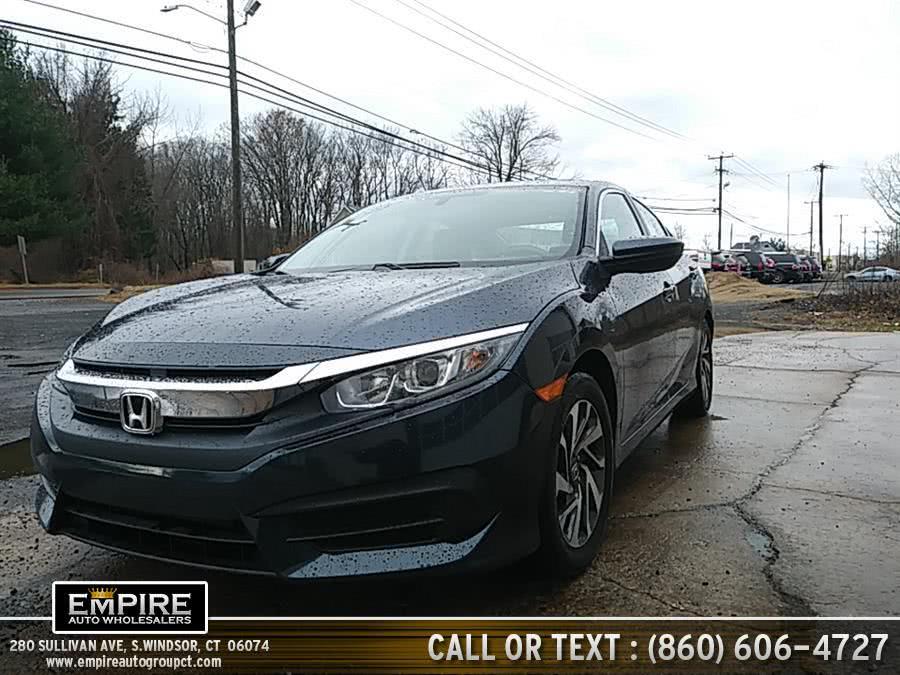 Used Honda Civic Sedan 4dr CVT EX 2016 | Empire Auto Wholesalers. S.Windsor, Connecticut