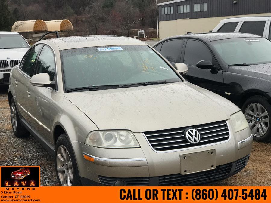 Used 2004 Volkswagen Passat Sedan in Canton, Connecticut   Lava Motors. Canton, Connecticut
