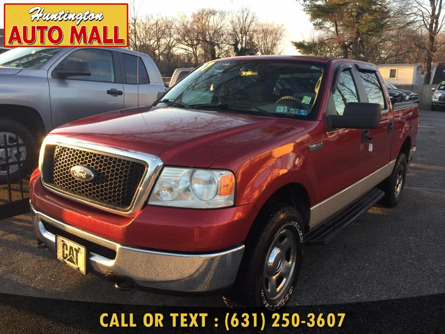 """2007 Ford F-150 4WD SuperCrew 150"""" XLT, available for sale in Huntington Station, NY"""