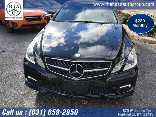 2010 Mercedes-Benz E-Class 2dr Cpe E 550 RWD, available for sale in Huntington, New York | The Boss Auto Group . Huntington, New York