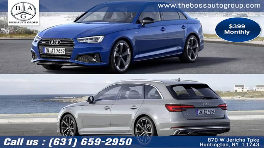 2019 Audi A4 4dr Sdn Auto quattro 2.0T Prem, available for sale in Huntington, New York | The Boss Auto Group . Huntington, New York