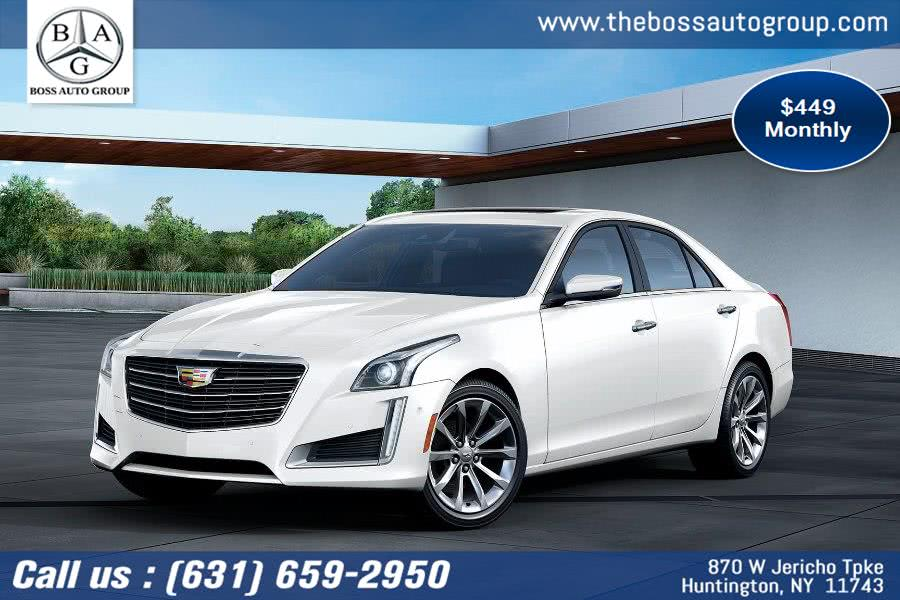 Used Cadillac CTS Sedan 4dr Sdn 3.0L Luxury AWD 2019 | The Boss Auto Group . Huntington, New York