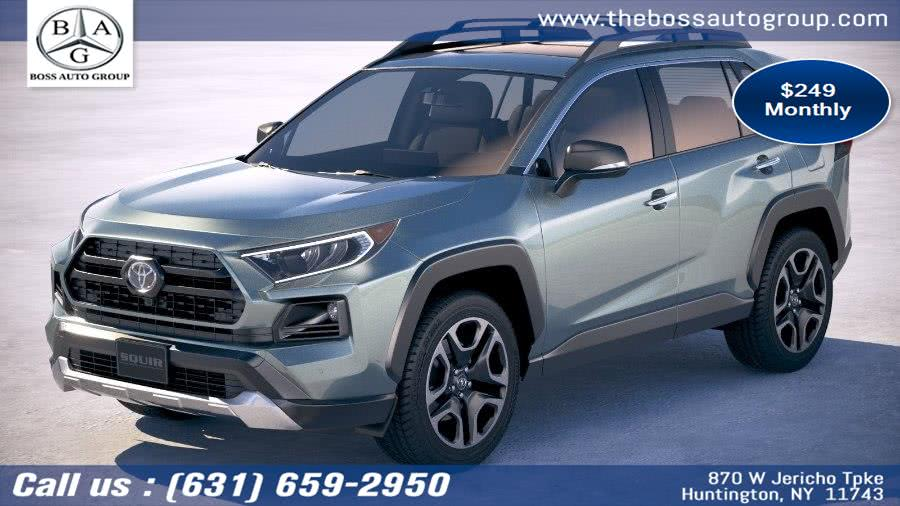 2019 Toyota RAV4 4WD 4dr, available for sale in Huntington, New York | The Boss Auto Group . Huntington, New York