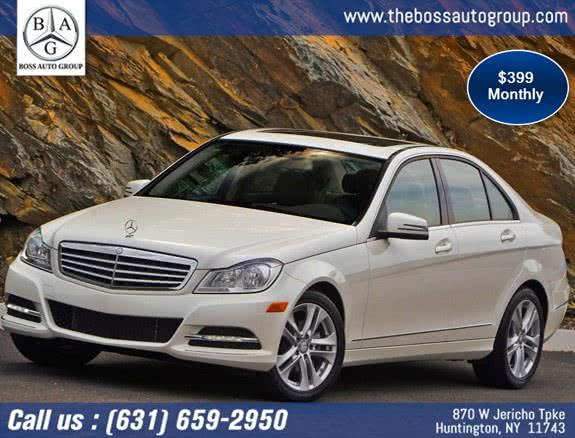 2020 Mercedes-Benz C-Class 4dr Sdn C300 Sport 4MATIC, available for sale in Huntington, NY