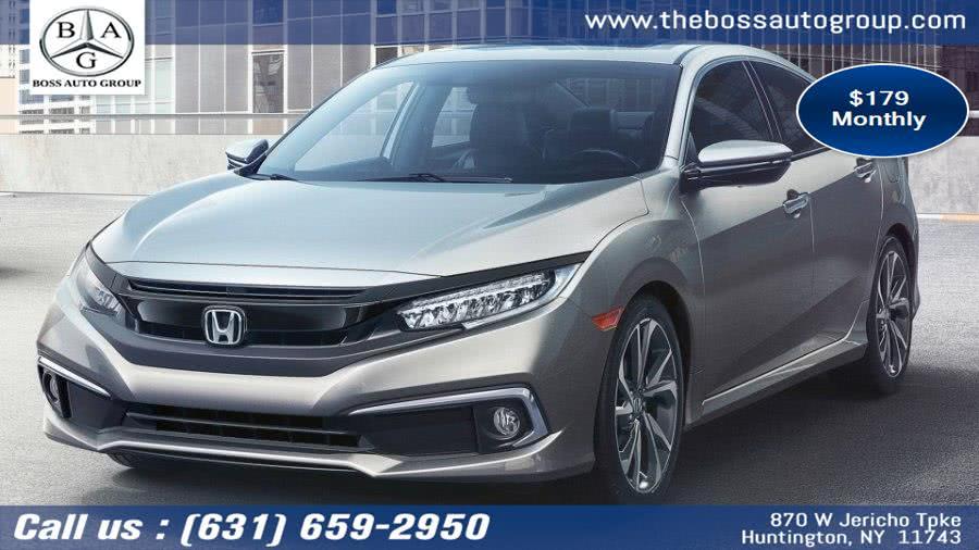 New 2019 Honda Civic Sdn in Huntington, New York | The Boss Auto Group . Huntington, New York