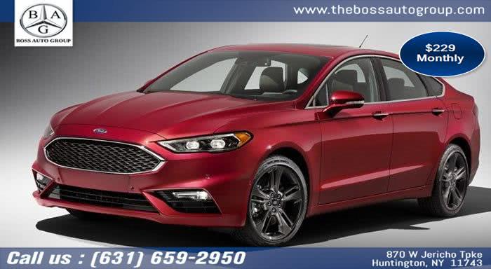 New 2019 Ford Fusion in Huntington, New York | The Boss Auto Group . Huntington, New York