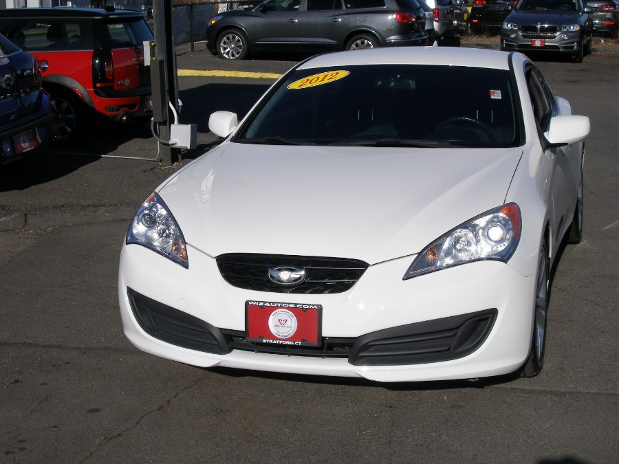 2012 Hyundai Genesis Coupe 2dr I4 2.0T Auto, available for sale in Stratford, Connecticut | Wiz Leasing Inc. Stratford, Connecticut