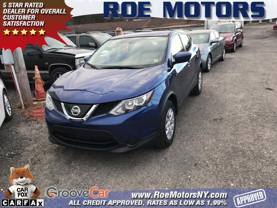 2018 Nissan Rogue Sport 2018.5 AWD S, available for sale in Shirley, New York | Roe Motors Ltd. Shirley, New York