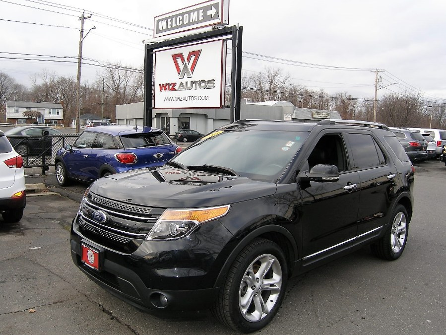 2013 Ford Explorer 4WD 4dr Limited, available for sale in Stratford, Connecticut | Wiz Leasing Inc. Stratford, Connecticut