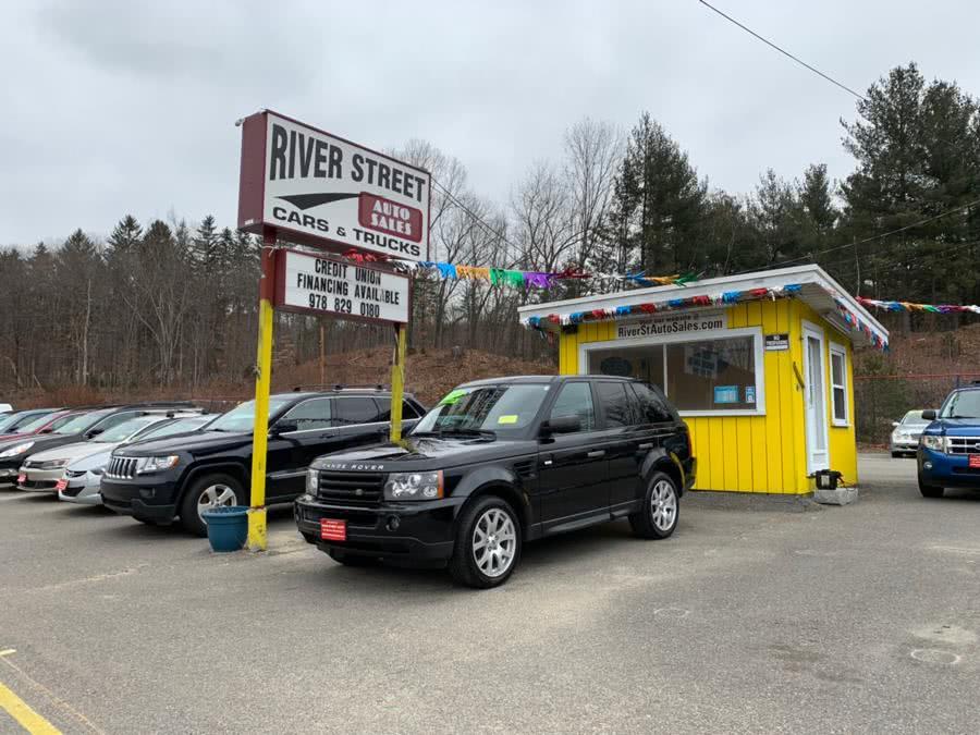 Used 2009 Land Rover Range Rover Sport in Fitchburg, Massachusetts | River Street Auto Sales. Fitchburg, Massachusetts