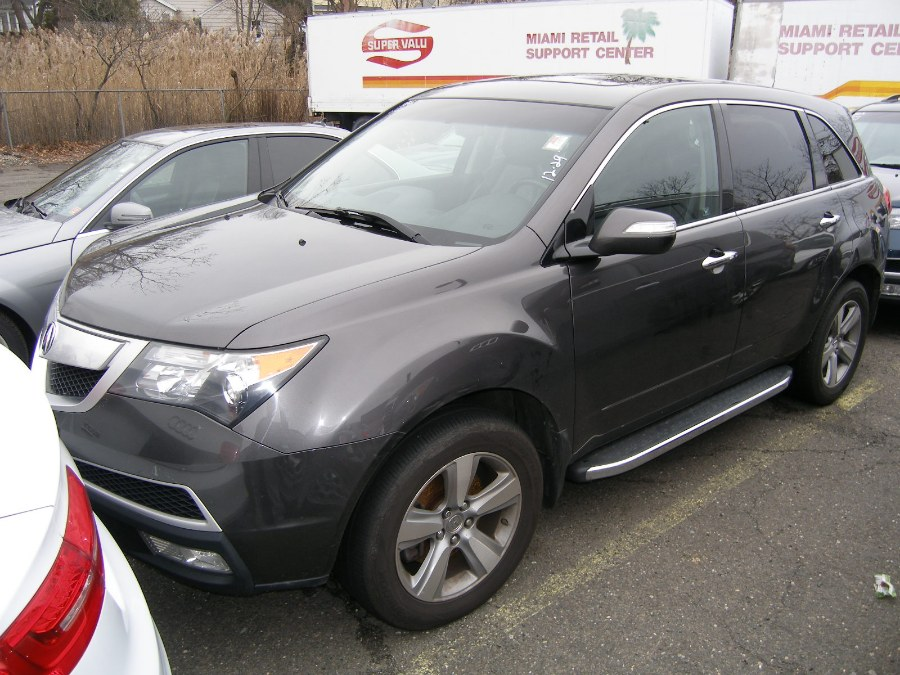2011 Acura MDX AWD 4dr Tech Pkg, available for sale in Stratford, Connecticut | Wiz Leasing Inc. Stratford, Connecticut