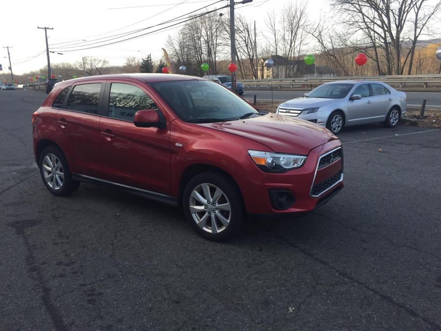 2014 Mitsubishi Outlander Sport 2WD 4dr CVT ES, available for sale in Meriden, Connecticut | Five Star Cars LLC. Meriden, Connecticut