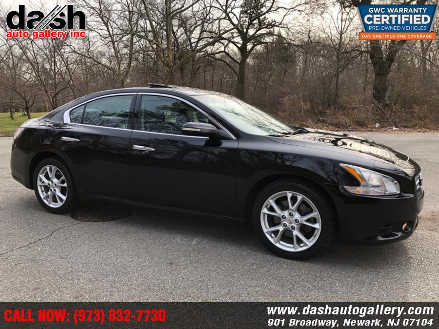 2012 Nissan Maxima 4dr Sdn V6 CVT 3.5 SV w/Premium Pkg, available for sale in Newark, New Jersey | Dash Auto Gallery Inc.. Newark, New Jersey