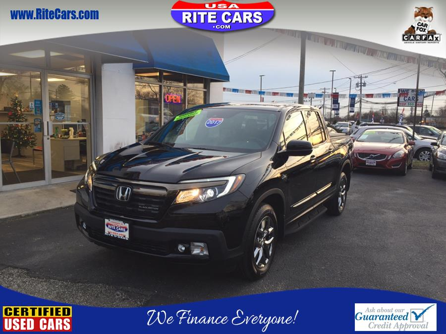 2017 Honda Ridgeline Black Edition 4x4 Crew Cab 5.3'' Bed, available for sale in Lindenhurst, New York | Rite Cars, Inc. Lindenhurst, New York
