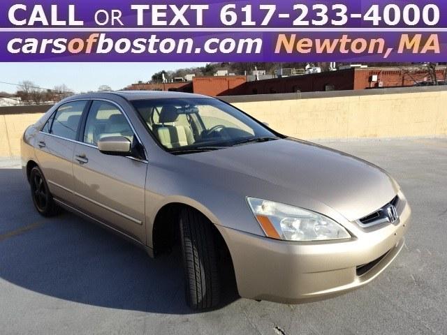 2005 Honda Accord Sedan EX AT, available for sale in Newton, Massachusetts   Motorcars of Boston. Newton, Massachusetts