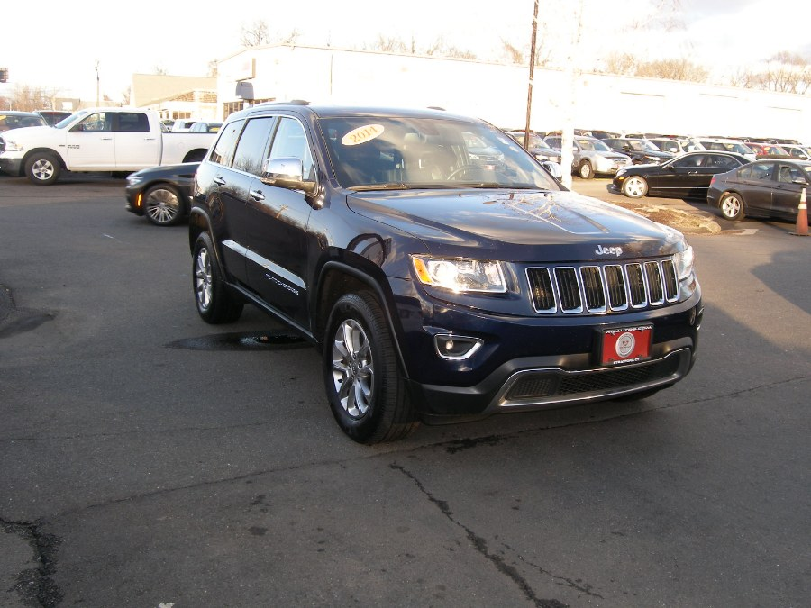 2014 Jeep Grand Cherokee 4WD 4dr Limited, available for sale in Stratford, Connecticut | Wiz Leasing Inc. Stratford, Connecticut