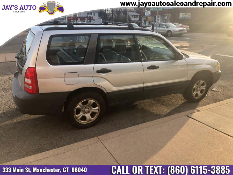 2005 Subaru Forester (Natl) 4dr 2.5 X Auto, available for sale in Manchester, Connecticut | Jay's Auto. Manchester, Connecticut