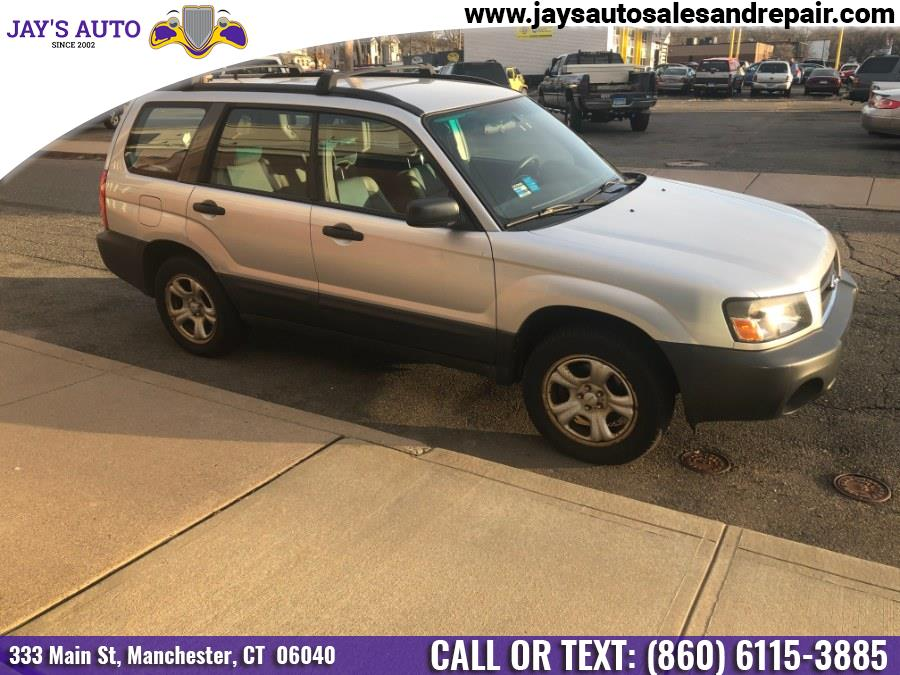 Used Subaru Forester (Natl) 4dr 2.5 X Auto 2005 | Jay's Auto. Manchester, Connecticut