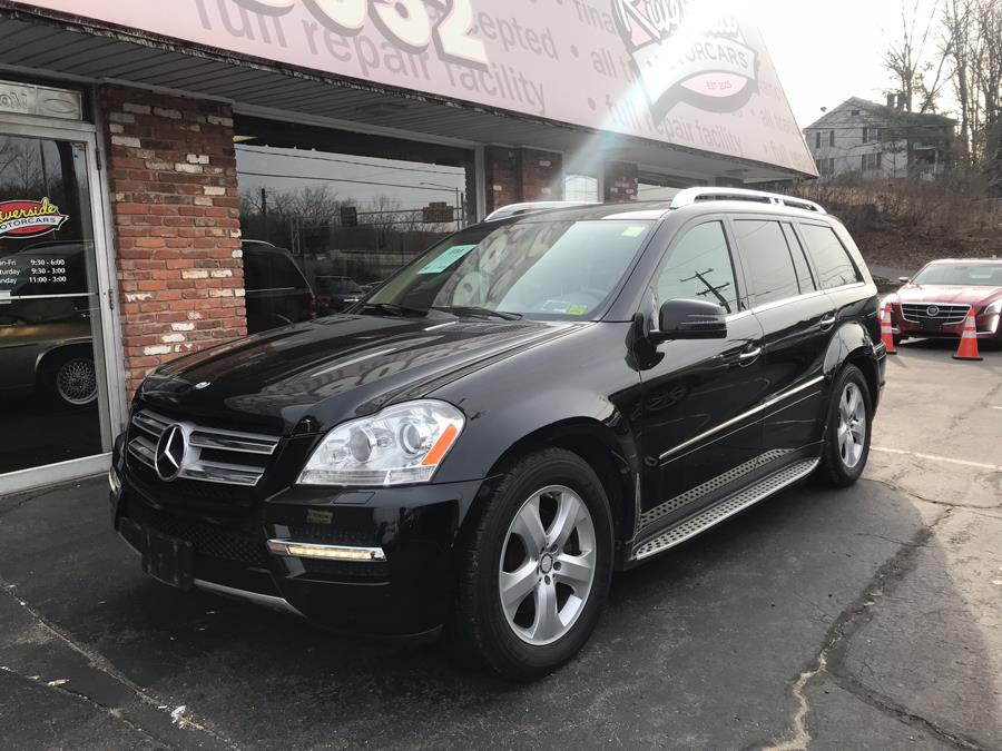 2012 Mercedes-Benz GL-Class 4MATIC 4dr GL450, available for sale in Naugatuck, Connecticut | Riverside Motorcars, LLC. Naugatuck, Connecticut