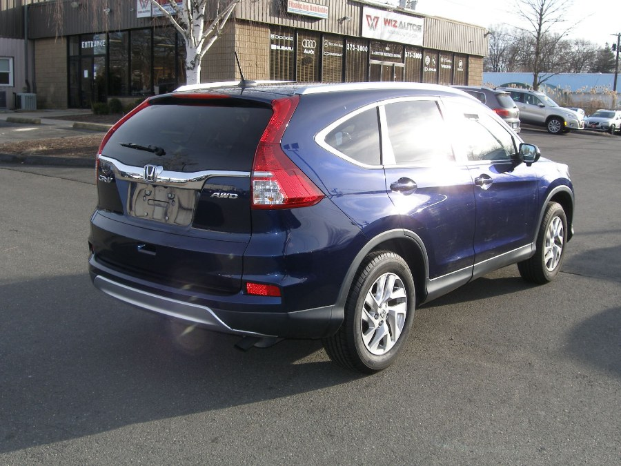 2015 Honda CR-V AWD 5dr EX-L, available for sale in Stratford, Connecticut | Wiz Leasing Inc. Stratford, Connecticut