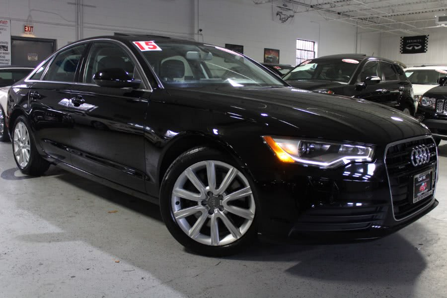 Used 2015 Audi A6 in Deer Park, New York | Car Tec Enterprise Leasing & Sales LLC. Deer Park, New York