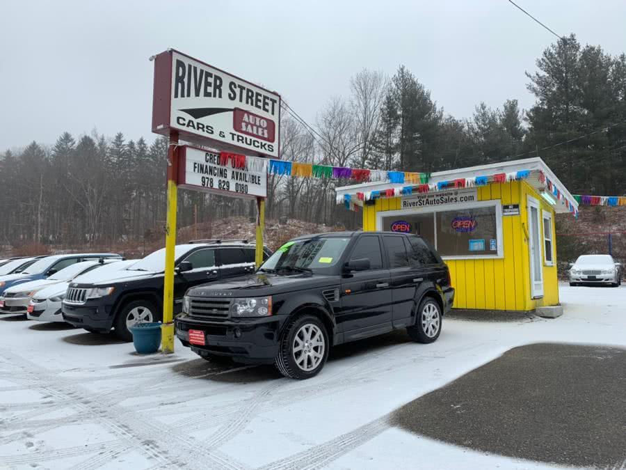 Used 2008 Land Rover Range Rover Sport in Fitchburg, Massachusetts | River Street Auto Sales. Fitchburg, Massachusetts