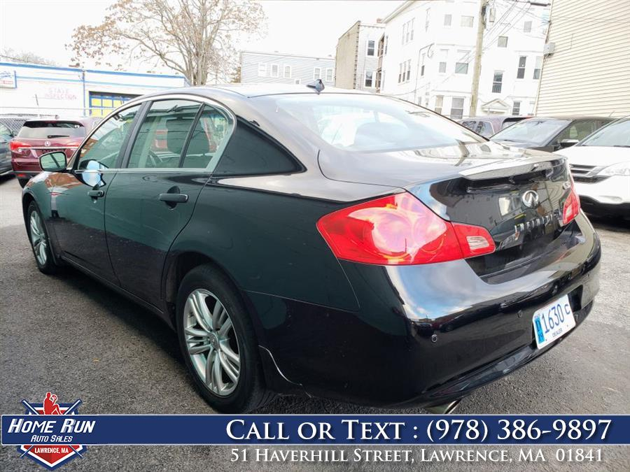 2011 Infiniti G37 , available for sale in Lawrence, Massachusetts | Home Run Auto Sales Inc. Lawrence, Massachusetts