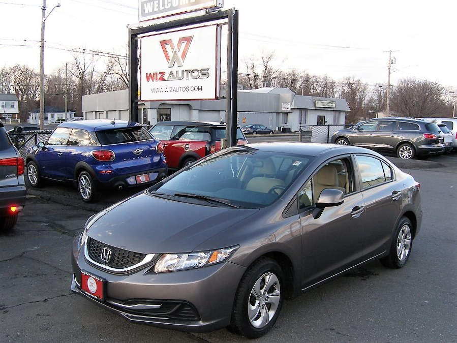 2013 Honda Civic Sdn 4dr Auto LX, available for sale in Stratford, Connecticut | Wiz Leasing Inc. Stratford, Connecticut