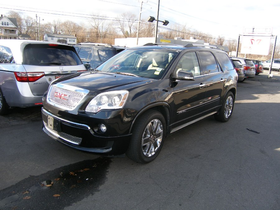 2012 GMC Acadia AWD 4dr Denali, available for sale in Stratford, Connecticut | Wiz Leasing Inc. Stratford, Connecticut