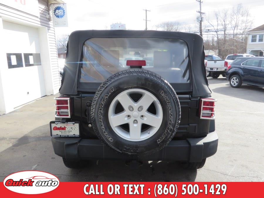 2008 Jeep Wrangler 4WD 2dr X, available for sale in Bristol, Connecticut | Quick Auto LLC. Bristol, Connecticut