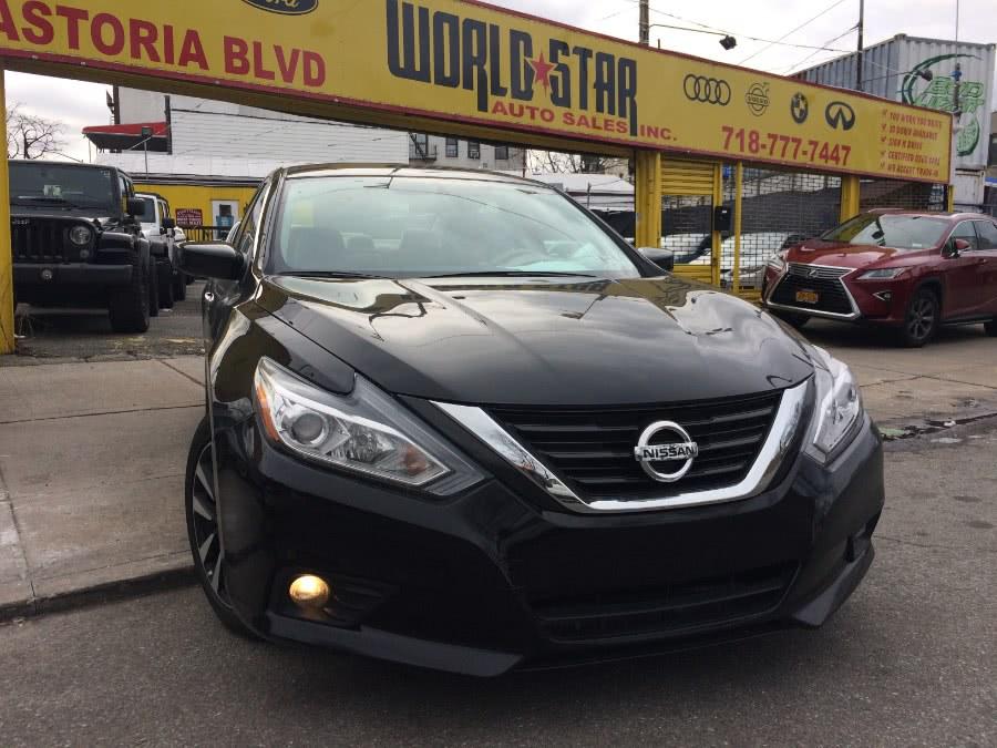 Used Nissan Altima 2.5 SV Sedan 2018 | World Star Auto Sales . Astoria, New York