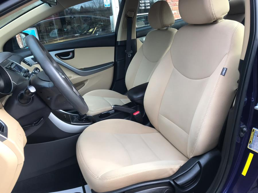 2013 Hyundai Elantra GLS, available for sale in Naugatuck, Connecticut | Riverside Motorcars, LLC. Naugatuck, Connecticut