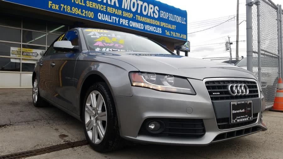 Used 2011 Audi A4 in Bronx, New York   New York Motors Group Solutions LLC. Bronx, New York