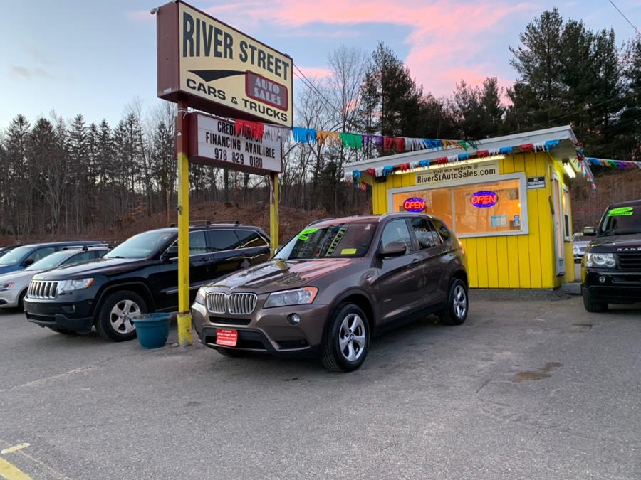 2011 BMW X3 AWD 4dr 28i, available for sale in Fitchburg, Massachusetts | River Street Auto Sales. Fitchburg, Massachusetts