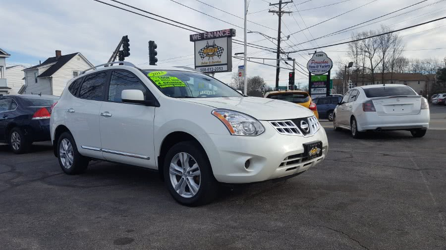2013 Nissan Rogue AWD 4dr S, available for sale in Worcester, Massachusetts | Rally Motor Sports. Worcester, Massachusetts