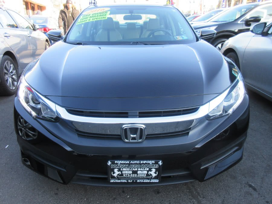 2016 Honda Civic Sedan 4dr CVT LX, available for sale in Irvington, New Jersey | Foreign Auto Imports. Irvington, New Jersey