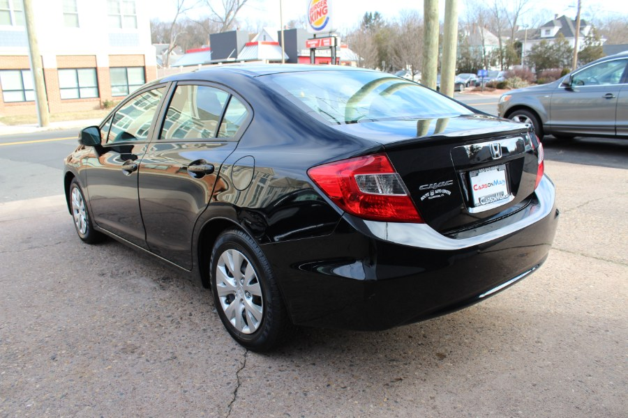 2012 Honda Civic Sdn 4dr Auto LX PZEV, available for sale in Manchester, Connecticut | Carsonmain LLC. Manchester, Connecticut