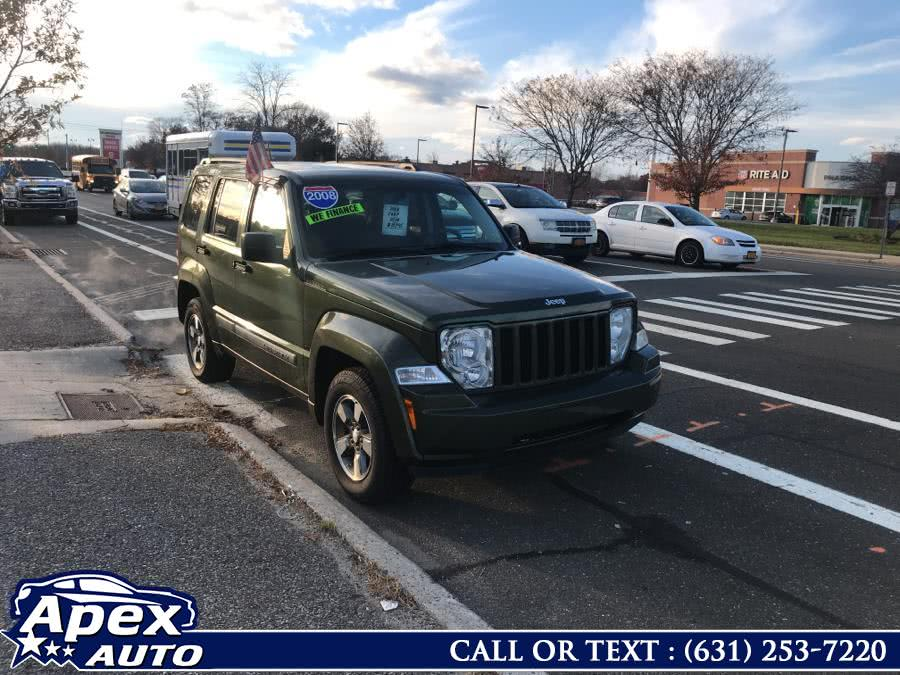 Used Jeep Liberty 4WD 4dr Sport 2008 | Apex Auto. Selden, New York