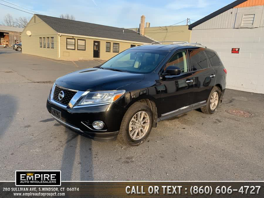 Used Nissan Pathfinder 4WD 4dr SL 2015 | Empire Auto Wholesalers. S.Windsor, Connecticut