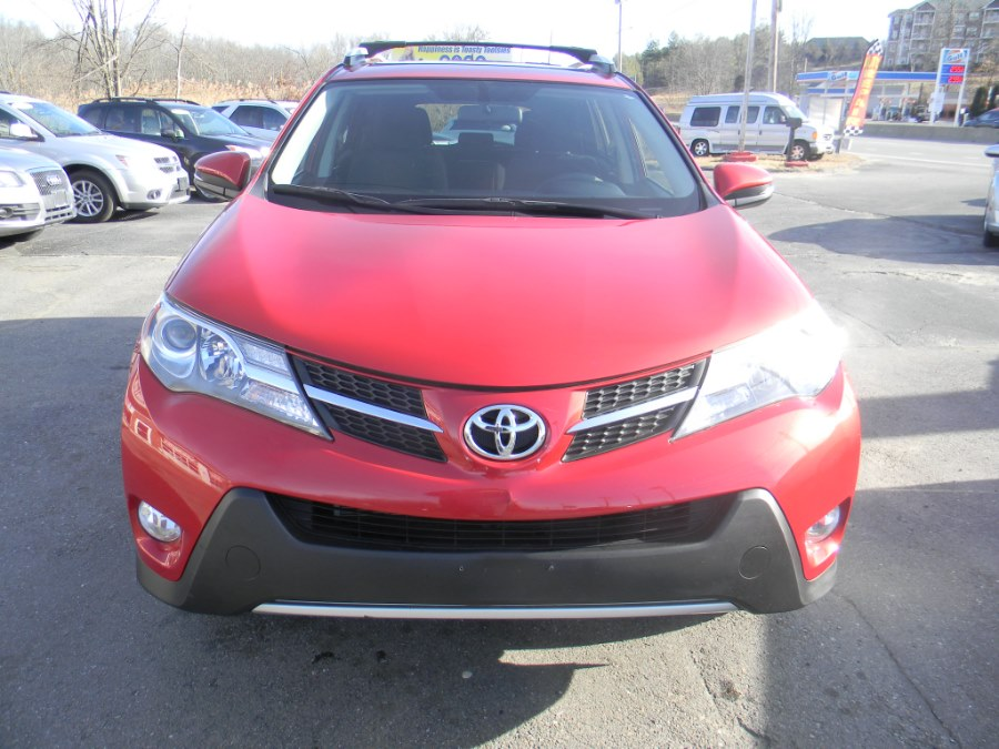 2013 Toyota RAV4 AWD 4dr XLE (Natl), available for sale in Southborough, Massachusetts | M&M Vehicles Inc dba Central Motors. Southborough, Massachusetts