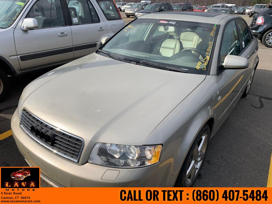Used 2004 Audi A4 2004 4dr Sdn 1.8T CVT