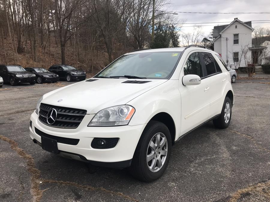 2007 Mercedes-Benz M-Class 4MATIC 4dr 3.5L, available for sale in Naugatuck, Connecticut | Riverside Motorcars, LLC. Naugatuck, Connecticut