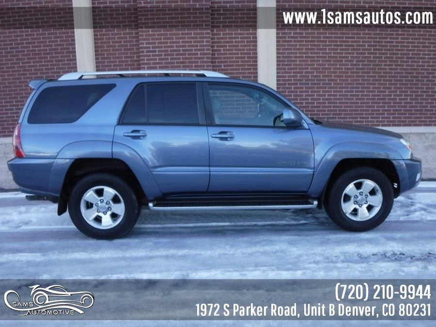 2004 Toyota 4Runner 4dr Limited V6 Auto 4WD (Natl), available for sale in Denver, Colorado | Sam's Automotive. Denver, Colorado