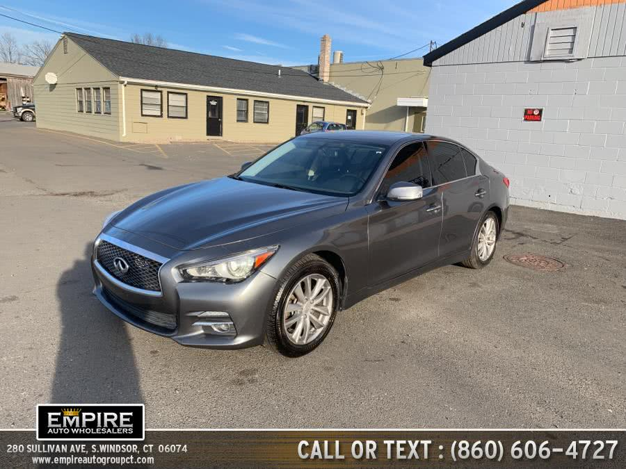 Used 2014 Infiniti Q50 in S.Windsor, Connecticut | Empire Auto Wholesalers. S.Windsor, Connecticut