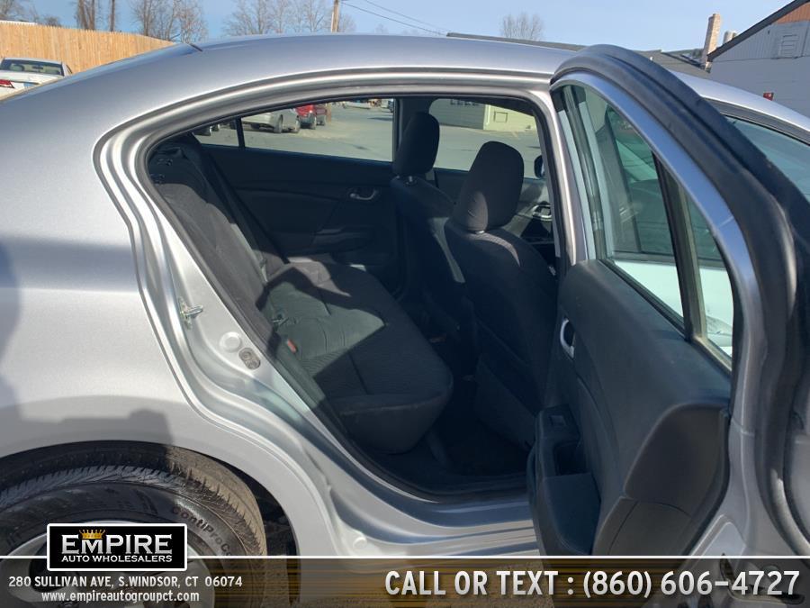 2015 Honda Civic Sedan 4dr CVT LX, available for sale in S.Windsor, Connecticut | Empire Auto Wholesalers. S.Windsor, Connecticut