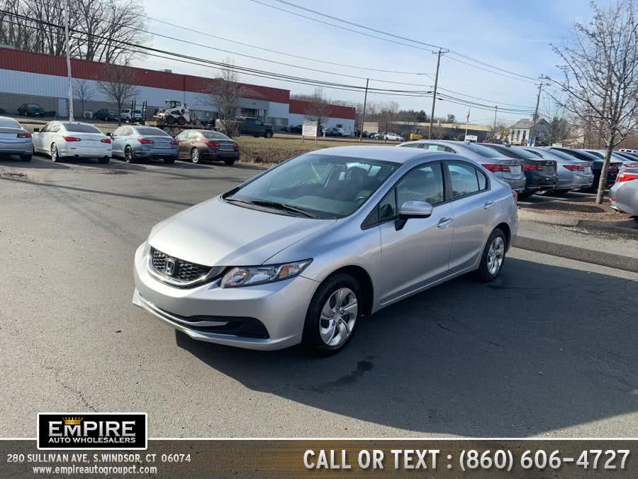 Used Honda Civic Sedan 4dr CVT LX 2015 | Empire Auto Wholesalers. S.Windsor, Connecticut